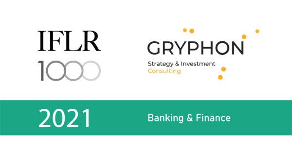Banking & Finance. 2021 IFLR-1000 Rankings