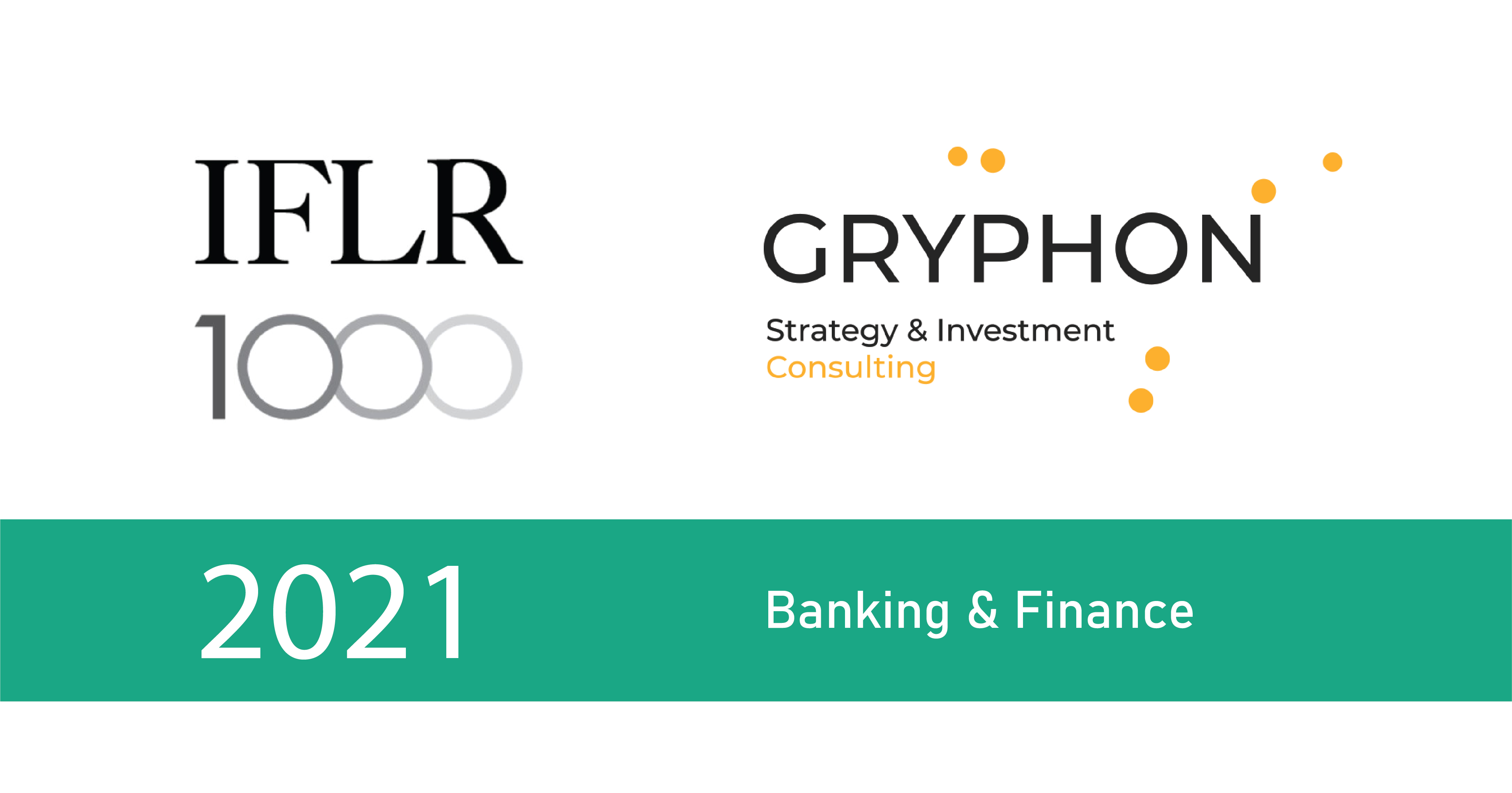 Banking & Finance. Рейтинг IFLR-1000 за 2021 рік